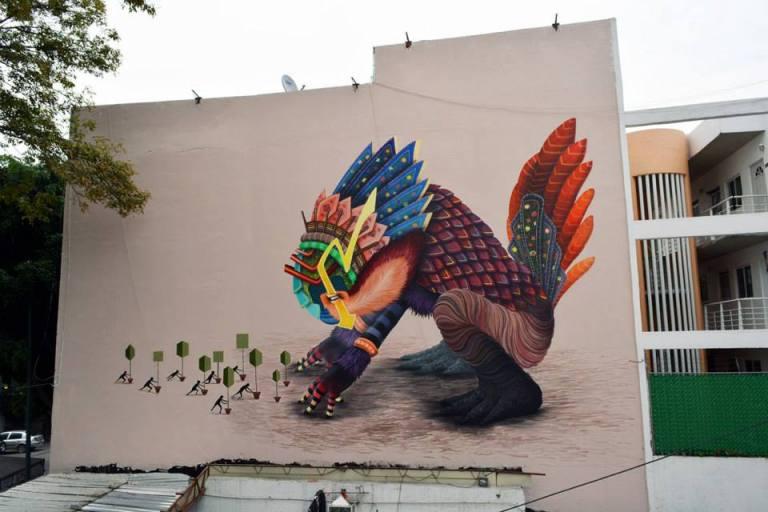 Muro en la colonia Roma (Durango y Frontera) - Facebook Curiot.
